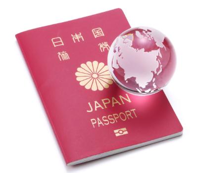 日本パスポートと地球